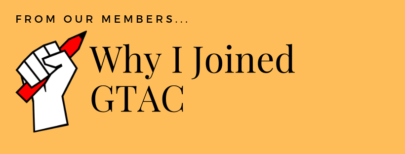 Why I JoinedGTAC